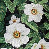 Цветы навсегда - коллекция мозаики на цветочную тему от Sicis.